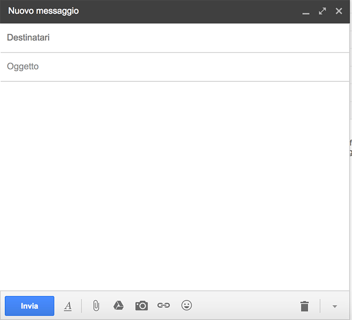 gmail spedire files google drive